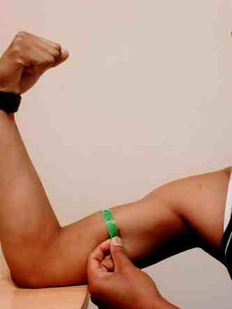 How to take body measurements for weight loss - arms