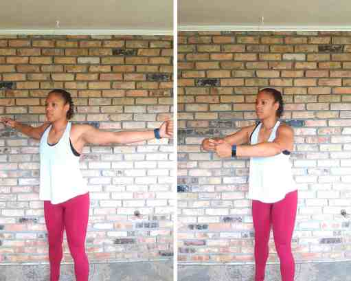 Hug a Tree - Exercises for flabby arms