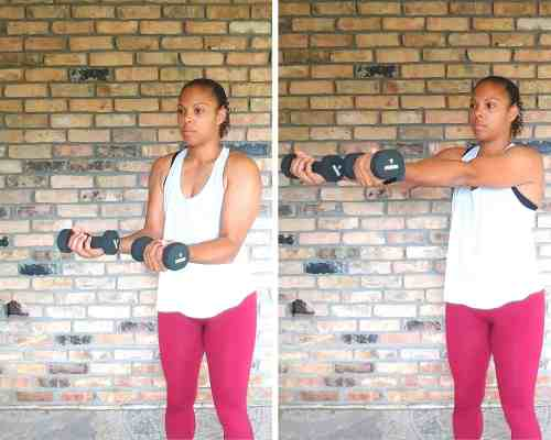 Serve the Platter - Exercises for flabby arms