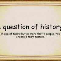 A question of history revision