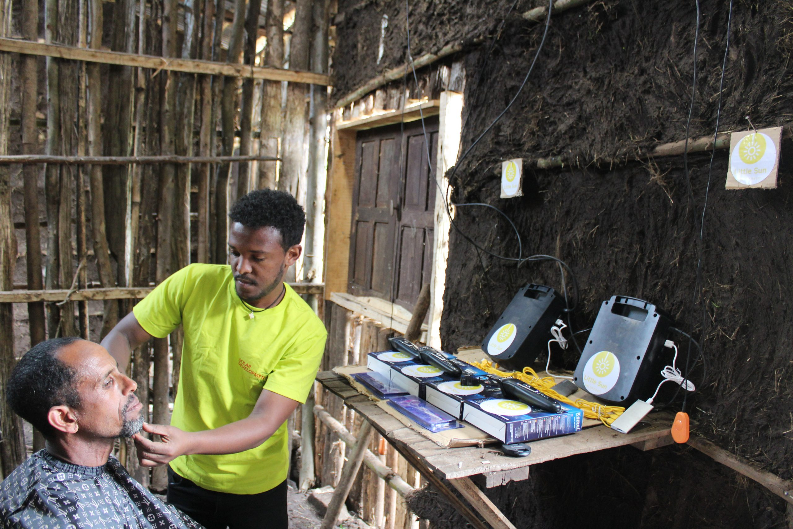 Little Sun solar products are being used for health, education and food security reasons