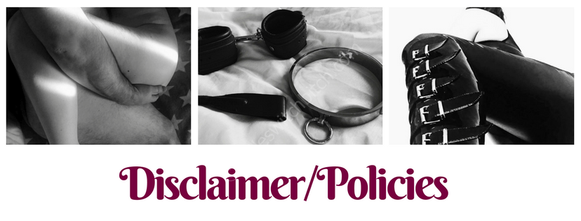 Disclaimer/Policies