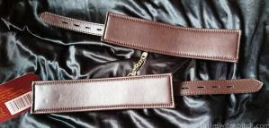 Bound Nubuck Leather Cuffs