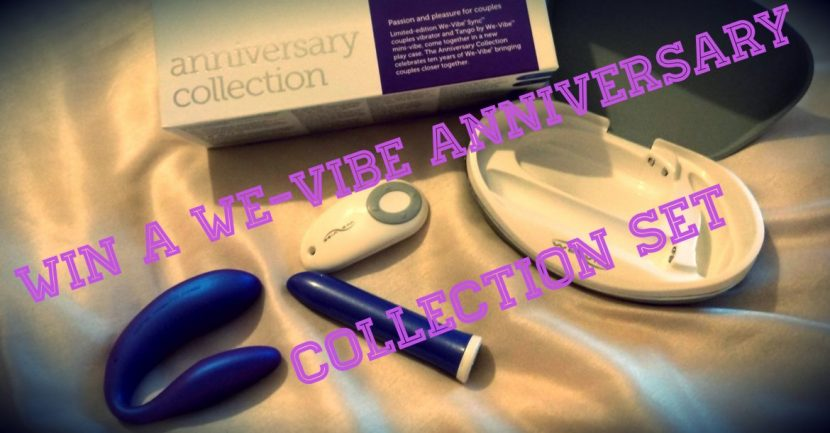 **ENDED** Win a We-Vibe Anniversary set