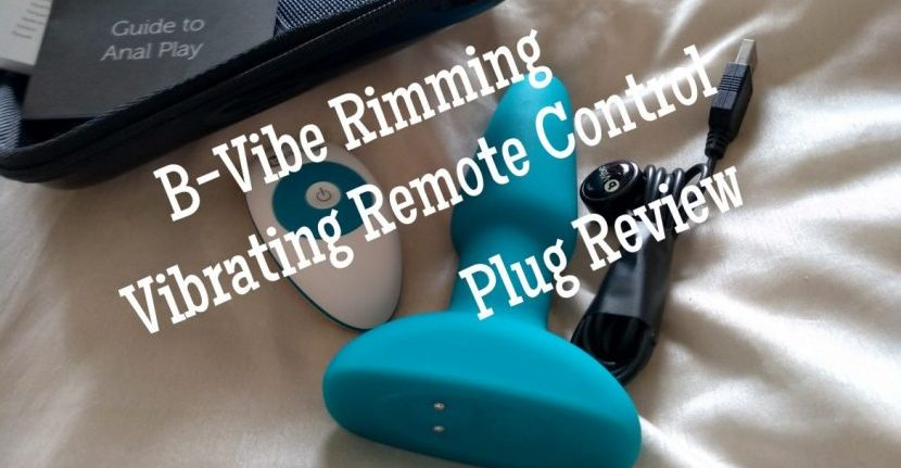 B-Vibe - Rimming Remote Control Butt Plug Review