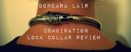 Bondara Lair Combination Lock Collar
