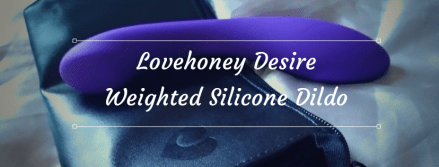 Lovehoney Desire Weighted Silicone Dildo