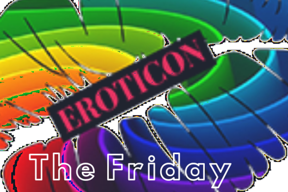 The eroticon symbol with the friday written on the image