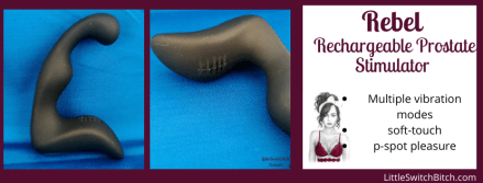 Rebel Rechargeable Prostate Stimulator