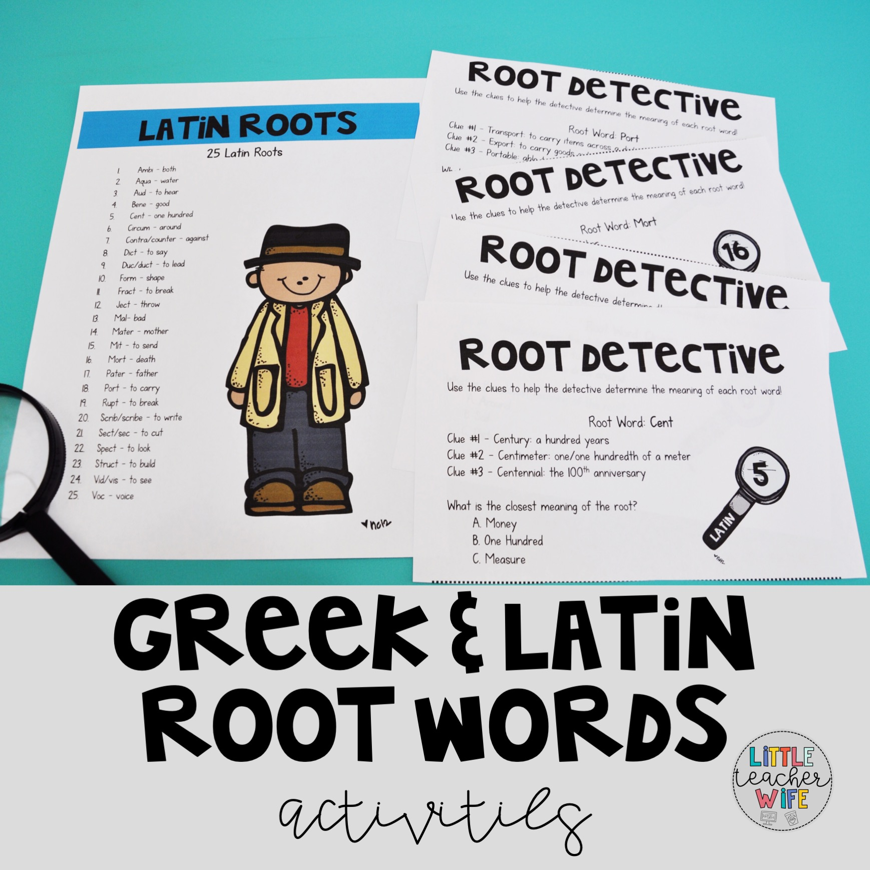 Greek and Latin Root Words - Little Teacher Wife