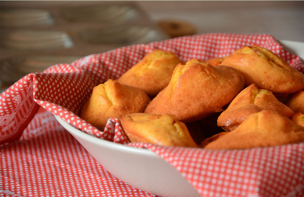 Recette simple, rapide et gourmande de madeleine au chorizo. Idéal en tapas ou pour l'apéritif