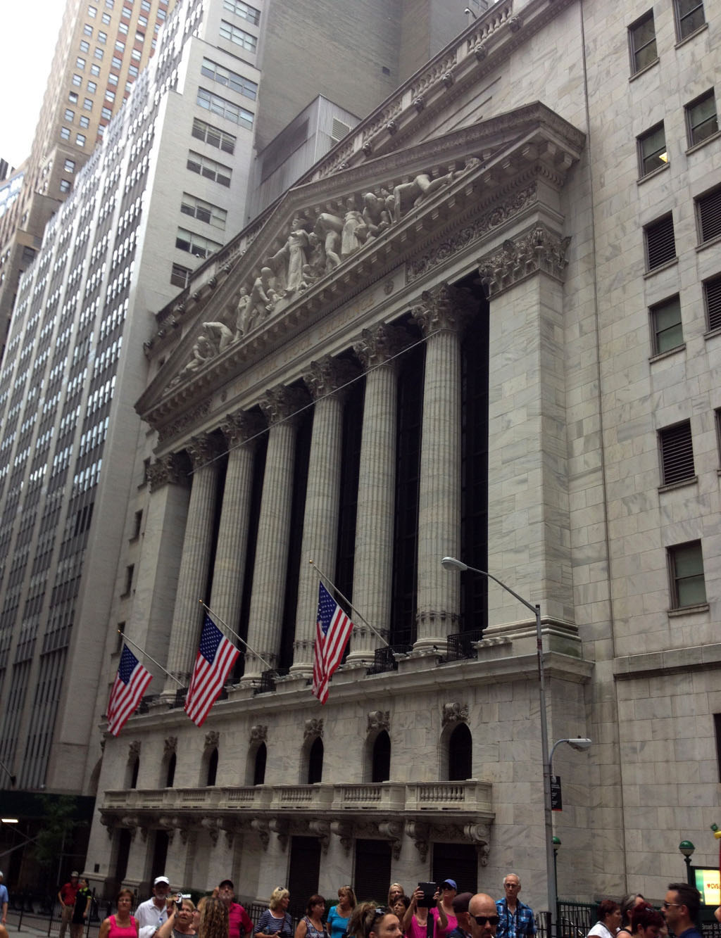 Voyage, mes incontournables pour visiter new-york, bourse, wall street