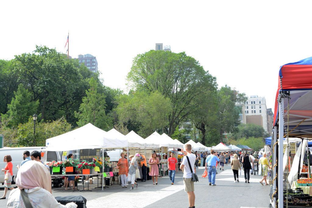 Voyage, mes incontournables pour visiter new-york, union square, greenmarket