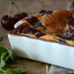 Recette du dessert clafoutis aux cerises