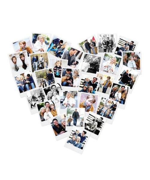 Heart Snapshot Mix™ Photo Art by Minted