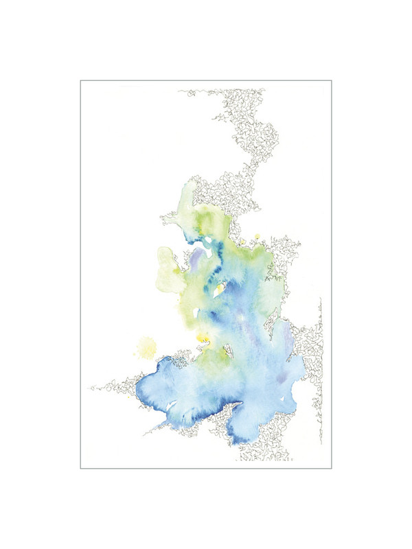Watercolor Series 301 limited edition print by Petite Papier