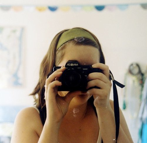 film photography self-portrait