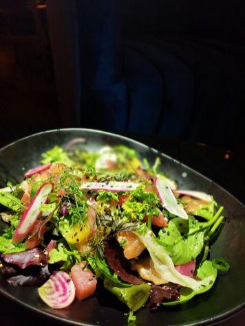 Gravlox Salad