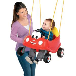 Cozy Coupe First Swing With Mom & Kid