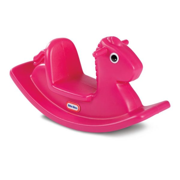 Fun & Bright Rocking Horse Magenta Side