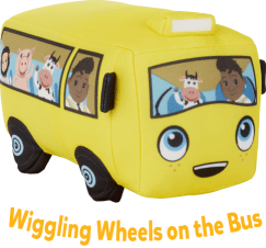 wiggling wheels on the bus