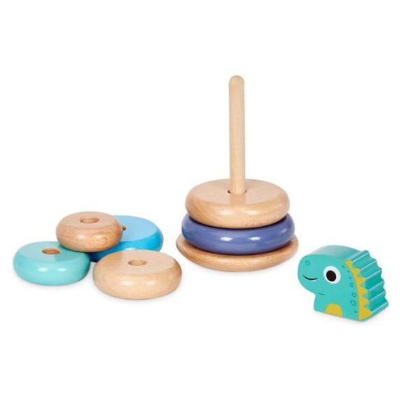Wooden Critters Dino Shape Stacker Developmental Toy by Little Tikes