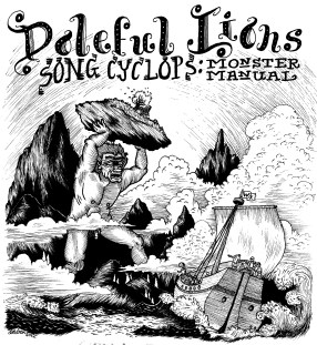 Doleful Lions-Monster Manual front cover