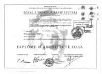 Nicolas' Architecture Masters Degree