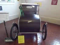 1924 Sima-Violet Cyclecar -Powered with bicycle pedals and a small gas motor - Could this be the first Hybrid?