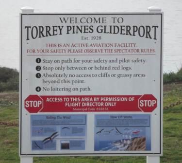 GLIDERPORT SIGN