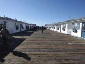 PACIFIC BEACH CABINS ON THE PIER