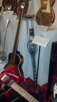 BARBARA MANDRELLS CRUTCH GUITAR MADE FOR HER AFTER SHE HAD HER ACCIDENT