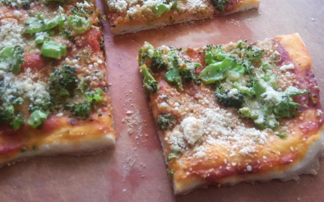 Super Easy Plant-Based Pizza