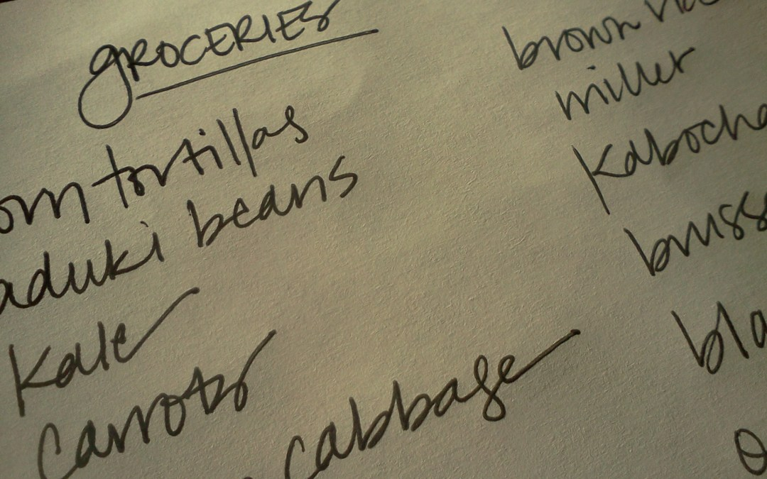 Planning Meals for the Week