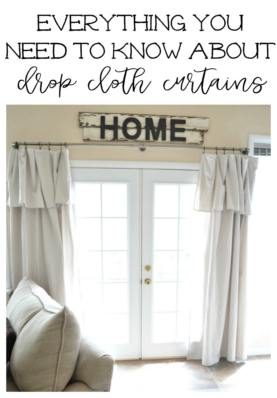 Drop Cloth Curtain Review