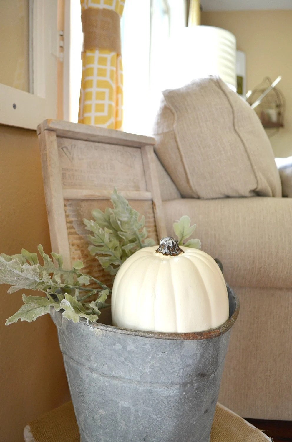 Cozy Farmhouse Fall Living Room Tour Little Vintage Nest