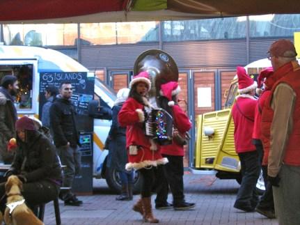 Santa Claus Brass Band