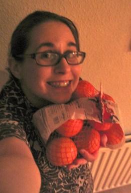 I've got oranges!