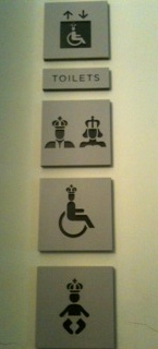 Royal Loo Sign