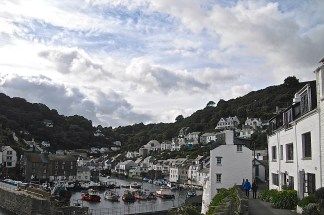 Polperro from the top of the hill