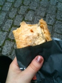 Made sure to eat a traditional Cornish pasty