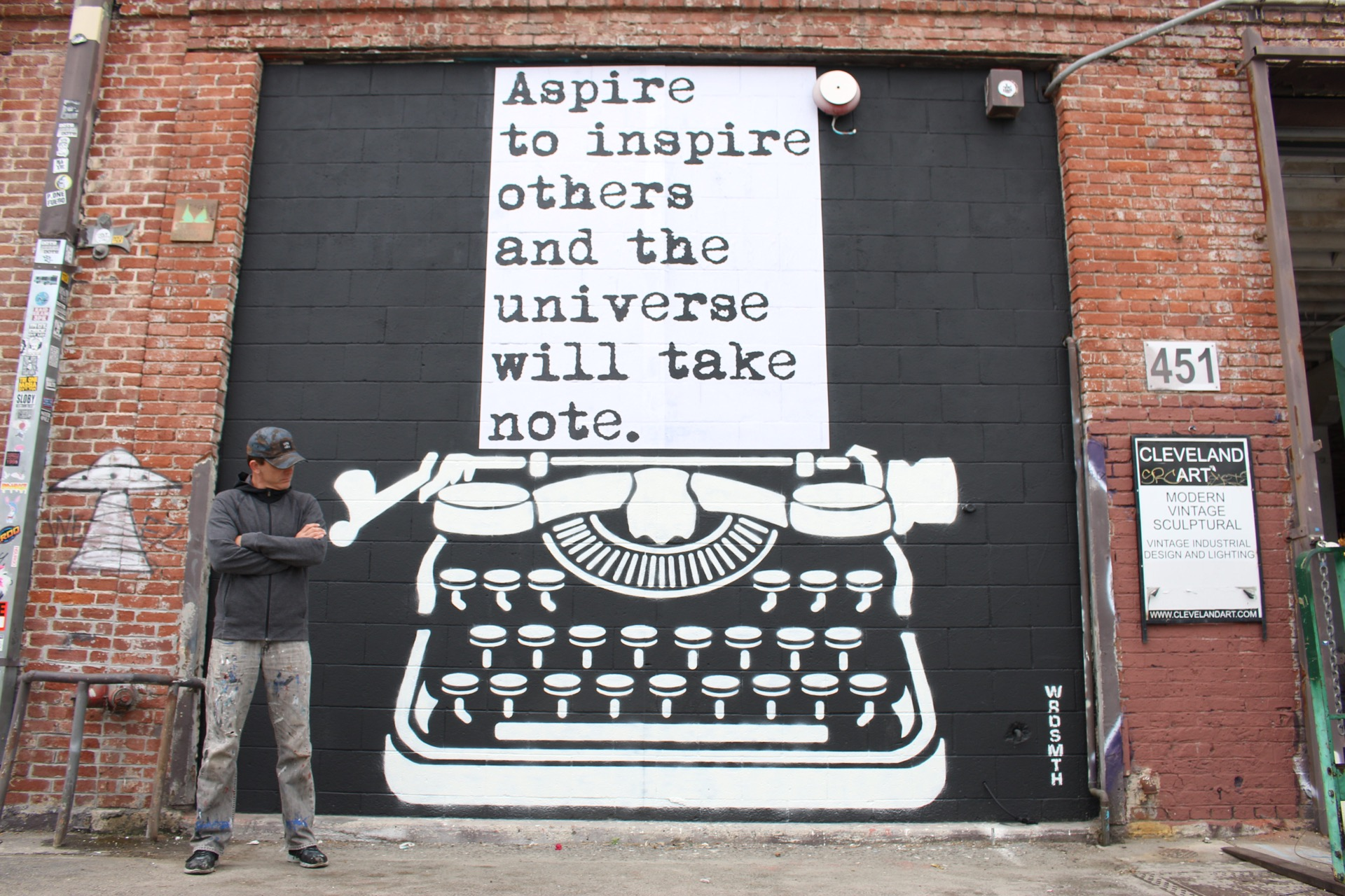 WRDSMTH: A Conversation With The Street Art Scribe