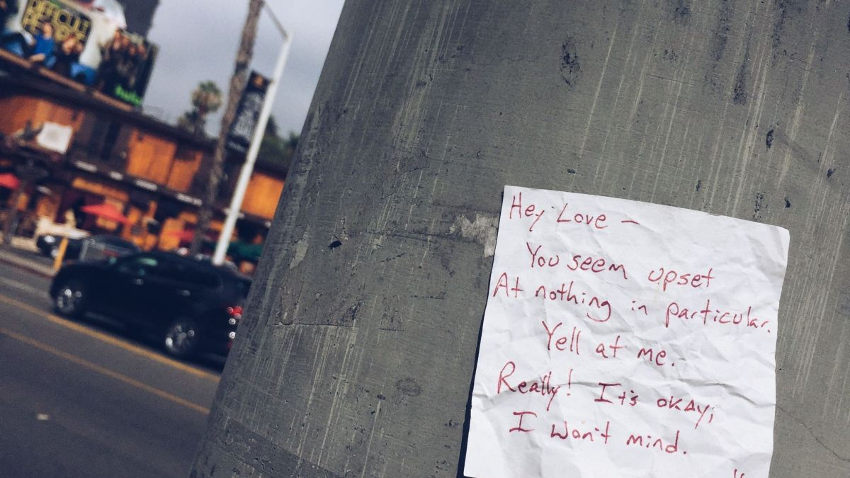 Discarded Post-it Poetry: An Idea That Sticks