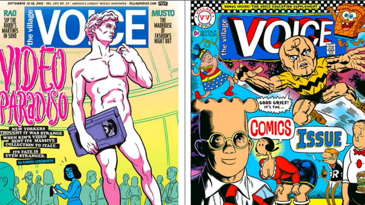 The Village Voice is Officially Out of Print