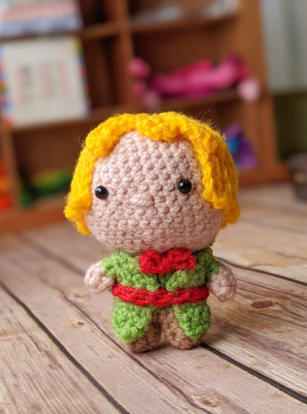 free pattern of crochet little prince