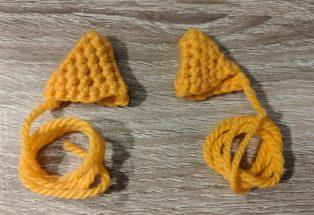 fox ears amigurumi fox girl in a free pattern
