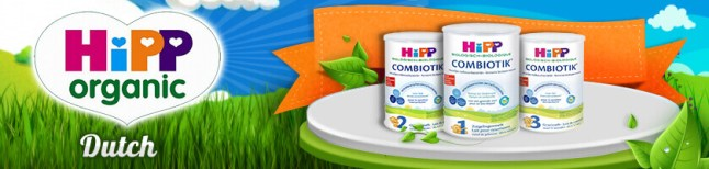 HiPP organic Dutch infant formula