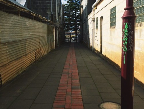 Alleyway in Portland, VIC