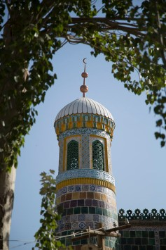 Mazar roof, Kashgar © Jo James