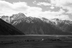 Mountains in B&W, 2 © Jo James